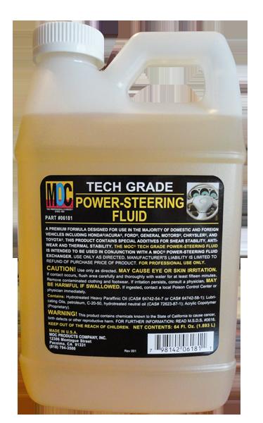 6181 - Tech Grade Power-Steering Fluid